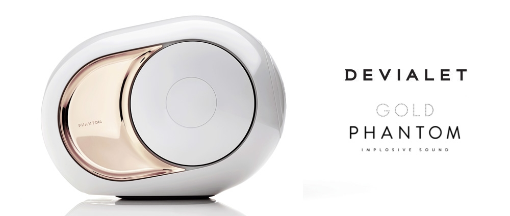 Devialet Gold Phantom Here