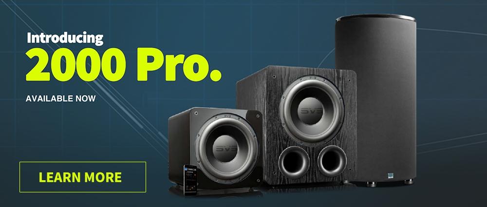 SVS 2000 Pro